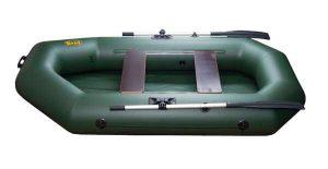 Лодка ПВХ Инзер 2(240) надувная гребная
