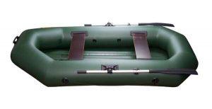 Лодка ПВХ Инзер 2(260)НД надувная гребная (Распродажа)