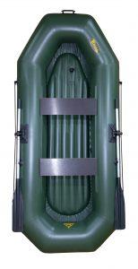 Лодка ПВХ Инзер 2 (280) НД надувная гребная