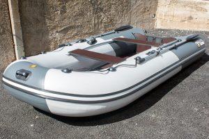 Лодка ПВХ Ривьера 3200 СК графит под мотор (Распродажа)