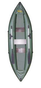 Лодка ПВХ Инзер К (каноэ) (весла)