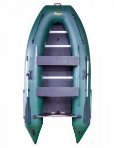 Лодка ПВХ Инзер 330 V (киль) под мотор надувная