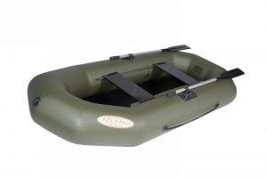 Лодка ПВХ Лоцман С-260-М ЖС надувная гребная (Распродажа)