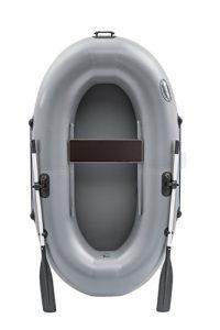 Лодка ПВХ Пиранья 1,5 Д надувная гребная