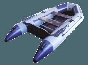 Лодка ПВХ Гелиос 31МС надувная под мотор