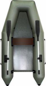 Лодка ПВХ Лоцман М-240 ЖС надувная под мотор