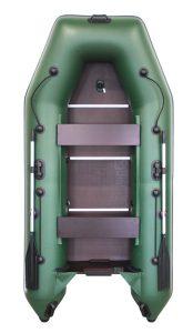 Лодка ПВХ Аква 2900 СК надувная под мотор