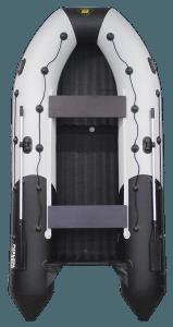 Лодка ПВХ Ривьера 4000 НДНД надувное дно низкого давления