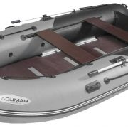 Лодка ПВХ Лоцман М-310 (киль) Премиум** надувная моторная