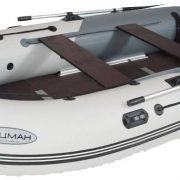 Лодка ПВХ Лоцман М-380 (киль) надувная моторная