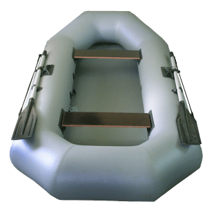 Лодка ПВХ Гелиос 28 надувная гребная