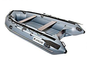 Лодка ПВХ Апачи 3700 НДНД надувное дно низкого давления