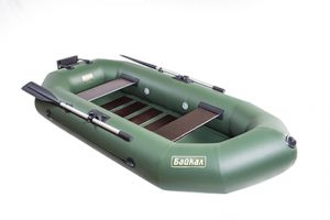 Лодка ПВХ Байкал 250 РС надувная гребная