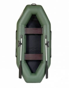 Лодка ПВХ Лоцман С-258 надувная гребная  (Распродажа)