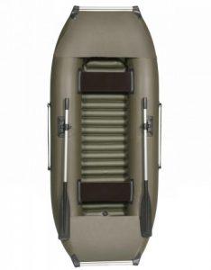 Лодка ПВХ Лоцман К-270 НД надувная гребная