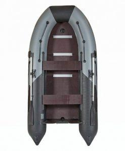 Лодка ПВХ Лоцман М-350 (киль) надувная под мотор