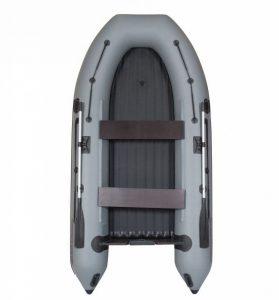 Лодка ПВХ Лоцман М-350 НД НД надувная под мотор