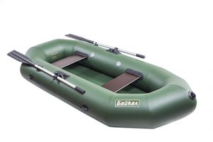 Лодка ПВХ Байкал 240 РС надувная гребная