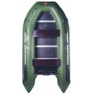 Лодка ПВХ Ривьера 3400 СК надувная под мотор
