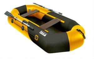 Лодка ПВХ Пеликан-268 (желтая) KILL BILL