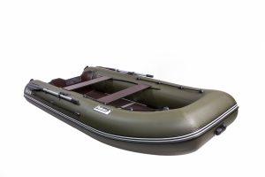 Лодка ПВХ Пеликан 300ТК надувная под мотор