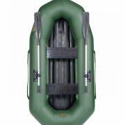 Лодка ПВХ Лоцман С-240-М НД надувная моторная