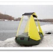 Тент для лодки ПВХ (ходовой) 1