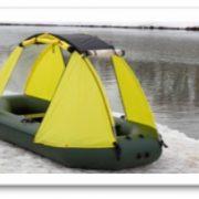 Тент для лодки ПВХ (ходовой) 4