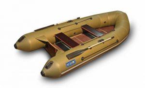 Лодка ПВХ Евра 3500 серия N под мотор надувная двухместная
