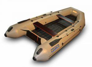 Лодка ПВХ Фортуна 3700 Н.Д. серия Р под мотор надувная двухместная