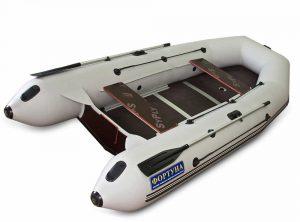 Лодка ПВХ Фортуна 3500 серия P под мотор надувная двухместная