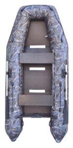 Лодка ПВХ Муссон 3200 СК кмф надувная под мотор