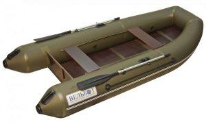 Лодка ПВХ Камыш 3200 серия F под мотор надувная двухместная
