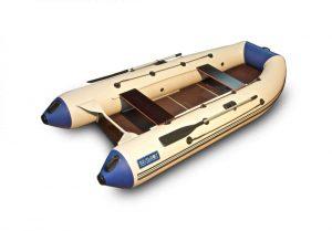 Лодка ПВХ Камыш 3400 серия N под мотор надувная двухместная