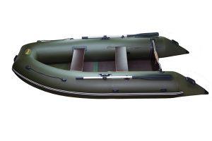 Лодка ПВХ Инзер-330 V (киль) под мотор надувная