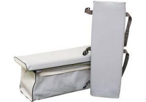 Мягкая накладка на сиденье с сумкой (для гребных лодок + для моторных длиной до 2,8 м)