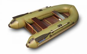 Лодка ПВХ Удача 2800 серия F под мотор надувная двухместная