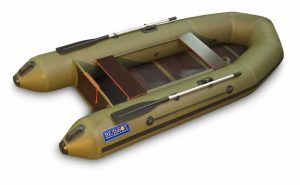 Лодка ПВХ ВУД 2 МБ серия F под мотор надувная двухместная