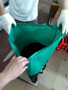 Фото Сумка-рюкзак для гребной 2х-местной лодки