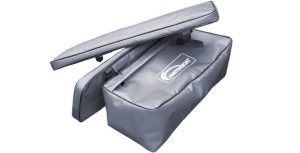 Фото комплекта мягких накладок с сумкой для лодок Хантер 280 – 320