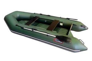 Лодка ПВХ Хантер 320 ЛН надувная под мотор