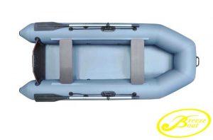 Лодка ПВХ Бриз (Breeze) 240 надувная под мотор