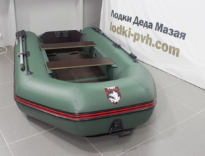 Лодка ПВХ Хантер 290 Л надувная под мотор
