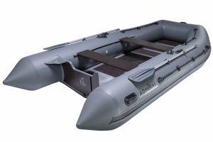 Лодка ПВХ Адмирал 430 надувная под мотор