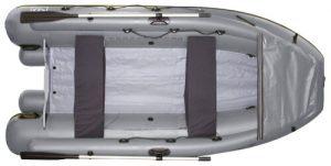 Лодка ПВХ Фрегат М-430 FM Lux надувная под мотор