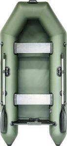 Лодка ПВХ Раш (Rush) 2800 зеленая надувная под мотор