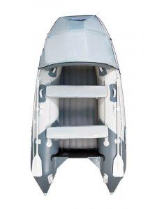 Фото лодки Гладиатор (Gladiator) E 330 светло-темносерая (Акция)