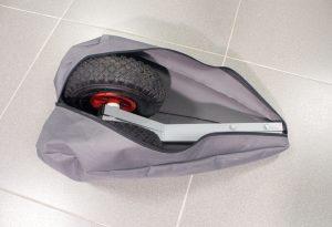 Фото чехла-сумки для транцевых колес на молнии