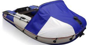 Фото носового тента для лодки СТЕЛС 255 и 255 АЭРО