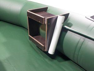 Столик в лодку ПВХ с держателем спиннинга (УКБ) №2